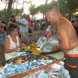 Youss en 2008 et sa paella